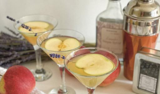 Apple Lavender Martini